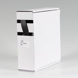 9,5 auf 4,8 mm 6,5 m Schrumpfschlauch-Box schwarz Schrumpfrate 2:1