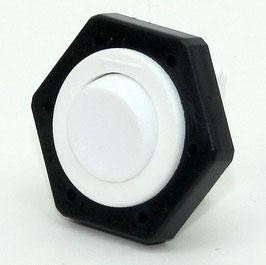 Tischleuchten Wippschalter Lampen Einbauschalter weiß 230V/2A Schraubanschluß