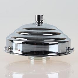 Lampenschirm Glashalter 111x45mm verchromt für E14 und E27 Fassung