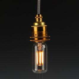 Danlamp E27 Vintage Deko LED Exterior Röhren Lampe 38mm 240V/4W