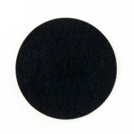 Lampenfuß Filz selbstklebend 170mm Durchmesser schwarz