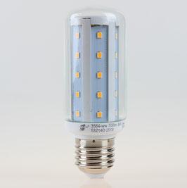 E27 LED Leuchtmittel Röhren-Lampe klar 8W 3000K 700lm warmweiß GreenLED