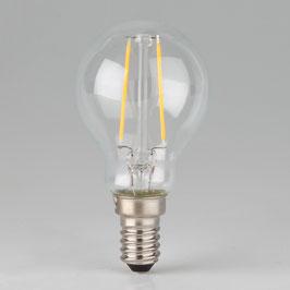 Osram LED Filament Leuchtmittel 2W 240V Tropfen-Form klar E14 Sockel warmweiß