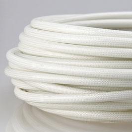 Glasseide Isolierschlauch natur silikonbeschichtet C250° 3,5mm