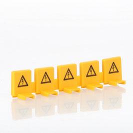 Berührungsschutz für nicht genutzte Phasen, 5-polig trennbar