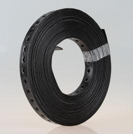 Lochband Montageband Metall kunststoffummantelt B19mm L10m Loch 6,5mm