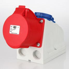 PCE CEE Steckdosenkombination 5-polig 32A/400V mit Schutzkontakt Steckdose