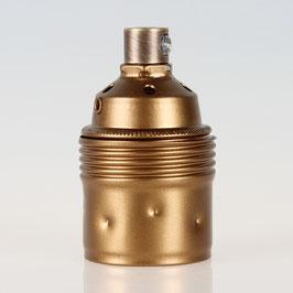 E27 Premium Metall-Fassung antik fume mit Zugentlaster