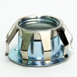 E14 Metall-Federring Federkorb Metall verzinkt 45x25mm für Metallfassung