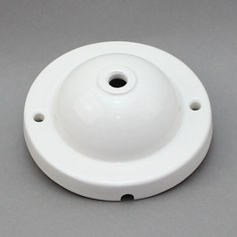 Lampen Leuchten Porzellan Keramik Baldachin 117x42mm mit Seitenloch