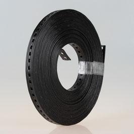 Lochband Montageband Metall kunststoffummantelt B14mm L10m Loch 5mm