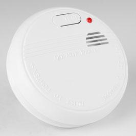 Brandschutz Rauchmelder fotoelektrisch weiß inkl. 9V Batterie REV
