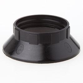 E14 Unterring Schraubring Thermoplast 43x15mm für Kunststoff Fassung