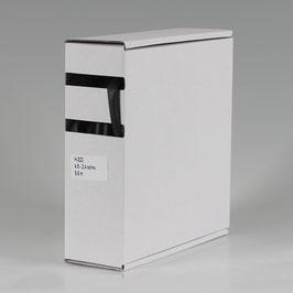4,8 auf 2,4 mm 9,5 m Schrumpfschlauch-Box schwarz Schrumpfrate 2:1