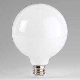 Sigor E27 LED Globe Filament Leuchtmittel 230V/12W=100W warmweiß Durchmesser 125mm dimmbar