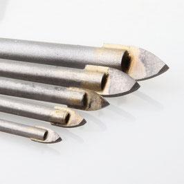 Heller Glas Keramikbohrer-Satz 4, 5, 6, 8, 10mm