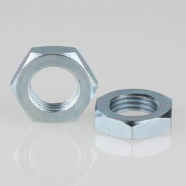 R1/4 Zoll Sechskantmutter Metall verzinkt 19x5