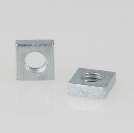 M5 Vierkantmutter Metall verzinkt DIN 562