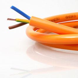 Flexipur Schlauchleitung orange H07BQ-F 3x1,5mm²