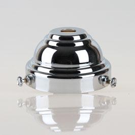 Lampenschirm Glashalter 58x35mm verchromt für E14 und E27 Fassung