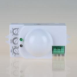 Mikrowellen-Bewegungsmelder für UP-Montage 360° Reichweite 8m IP20