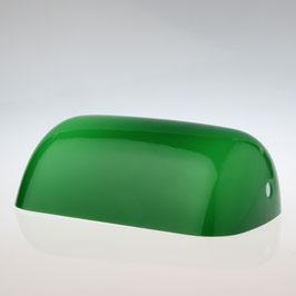 Lampen Ersatzglas grün glänzend L225xB130 mm für Bankers Tischleuchten