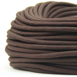 Textilkabel Stoffkabel braun 2-adrig 2x0,75 Zug-Pendelleitung S03RT-F