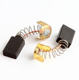 6,4x12,5x24mm Kohlebürsten Motorkohlen für Fein Schleifmaschine (K1181A)