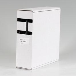 3,2 auf 1,6 mm 11,5 m Schrumpfschlauch-Box schwarz Schrumpfrate 2:1