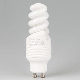 GU10 Energiesparlampe spiralform 11W 230-240V warmton