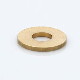 Unterlegscheibe 20x8,4x2,0 mm Messing für (M8x1 Gewinderohr)