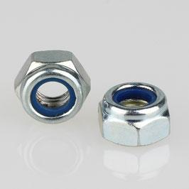 M8 Sechskant Sicherungsmutter Metall verzinkt DIN 985