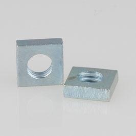M6 Vierkantmutter Metall verzinkt DIN 562