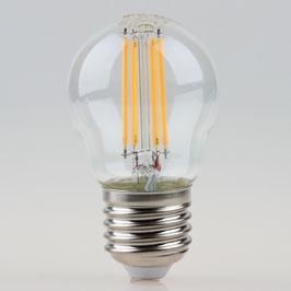 Sigor E27 LED Filament Tropfenlampe klar 4,5W = (40W) 470lm warmweiß dimmbar