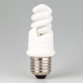 E27 Energiesparlampe spiralform 7W/230-240V warmton