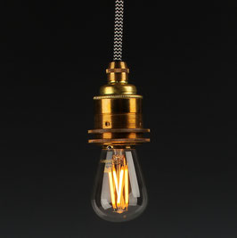 Danlamp E14 Vintage Deko LED Mini Gold Edison Lampe 240V/1,5W