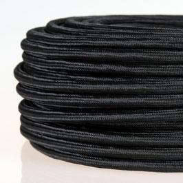Textilkabel Stoffkabel schwarz 4-adrig 4x0,75 Pendelleitung
