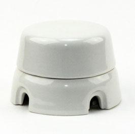 Abzweigdose Verteilerdose Porzellan mit Schraubdeckel