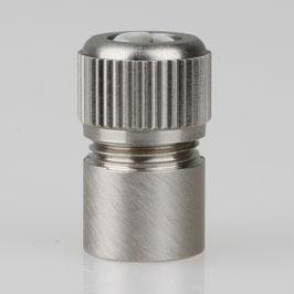 Zugentlaster Metall 3-teilig mit M10x1 Innengewinde