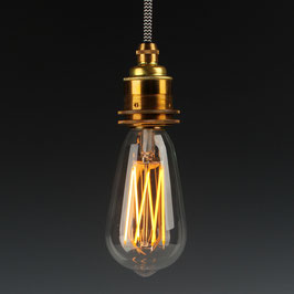 Danlamp E27 Vintage Deko LED Edison Gold Lamp 240V/4W