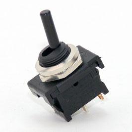 Lampen Einbauschalter Einbau-Kippschalter mit Lötanschluss M 12 Aus 1-polig