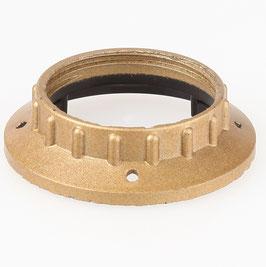 E27 Unterring Schraubring Kunststoff gold 58x13mm für Kunststoff Fassung