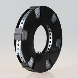 Lochband Montageband Stahl verzinkt B12mm L10m Loch 5mm