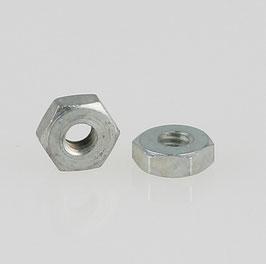 M2 Sechskantmutter Metall verzinkt DIN 934