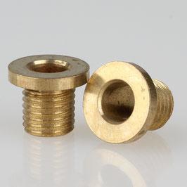 Trompeten-Nippel 12x10 Messing M10x1x8 ohne Verdrehschutz