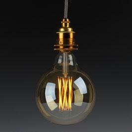 Danlamp E27 Vintage Deko LED Mega Edison Gold Lampe 125mm 240V/4W
