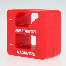 Magnetisierer Entmagnetisierer rot 52x50x29 mm