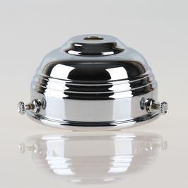 Lampenschirm Glashalter 70x39mm verchromt für E14 und E27 Fassung