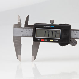 Digitale Schieblehre Messschieber für Aussen-, Tiefen-, und Stufenmessungen