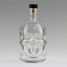 Flasche Totenkopf Pirat 700 ml